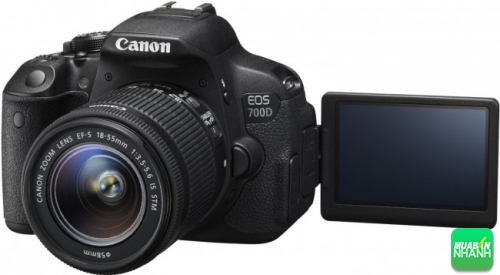 Canon ra mắt EOS 700D: cấu hình ấn tượng